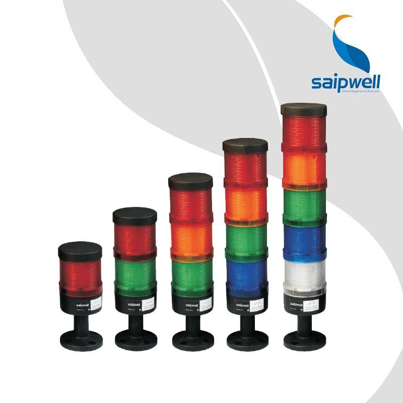 Saipwell 5 Kleur Hot Koop LED Tower Light 22mm <span class=keywords><strong>Flash</strong></span> Type Signaal <span class=keywords><strong>Toren</strong></span> Licht met CE