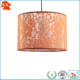 contemporary large country pretty burnt orange lace fabric lamp shade