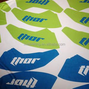 220gsm süper poli fırçalanmış kumaş/spor için triko fırçalanmış kumaş astar