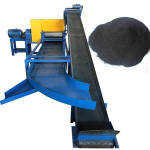 Waste Rubber Tyre Recycle Machine/Used Tyre Recycling Plant/ waste tire recycling to rubber powder