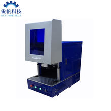 New product fine marking 30w JPT M6 covered fiber color laser marking machine price for metal steel stainless aluminum