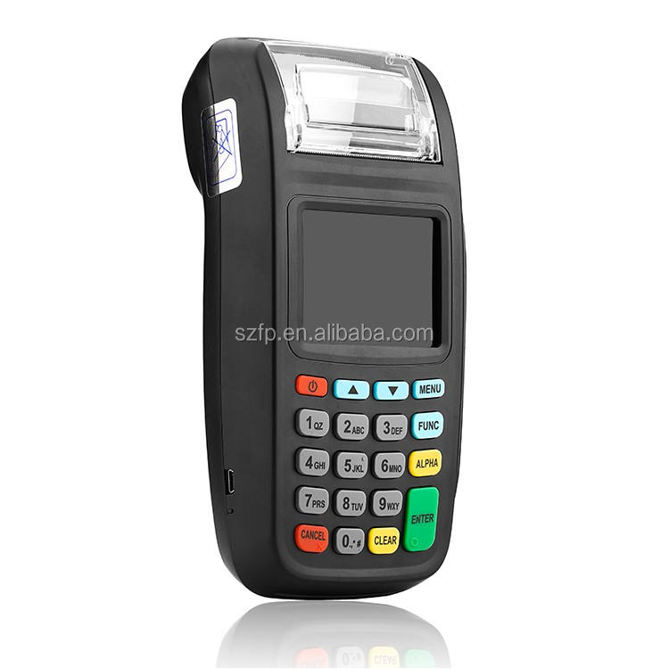 NEW8210 EMV PCI wireless mobile pos all in one point of sale machine
