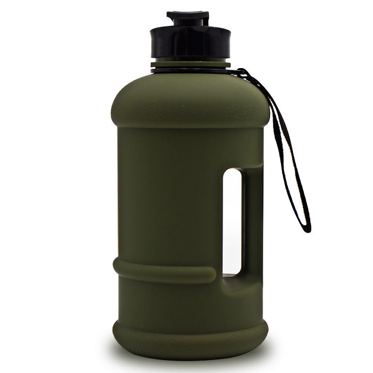 samples free 2.5l frosted water jug with custom logo new products petg 2.2L water bottle logo 2017 gym bottles