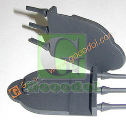 custom made automotive silicone rubber connectors with design service oem manufacturer