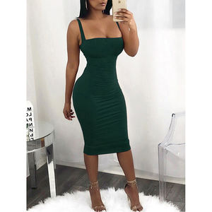 Frauen Sommer Ärmelloses Bodycon Kurze Mini Kleid Abend Party Cocktail