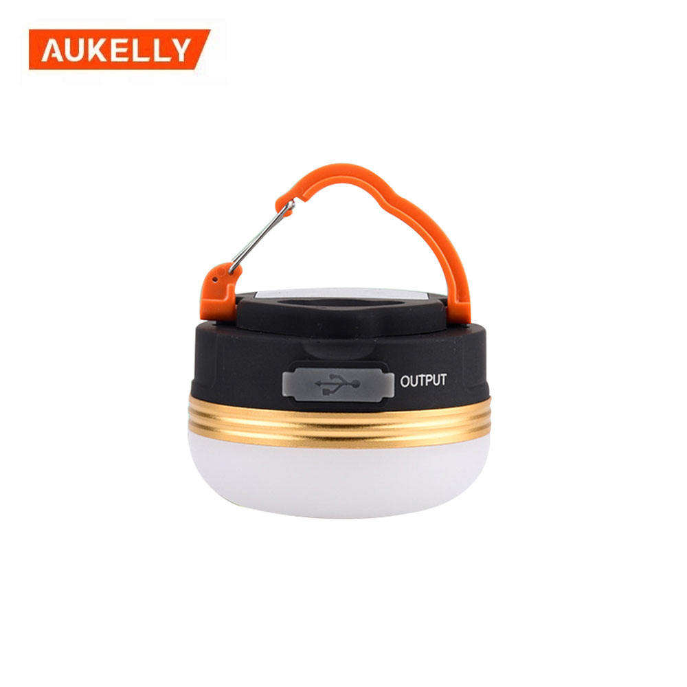 Solar powered led camping light outdoor tent lantern lamp portable collapsible hanging camping lantern