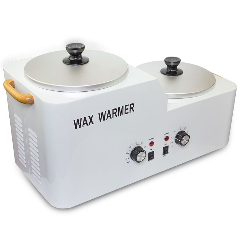 2017 New design beauty salons hot double large wax warmer heater
