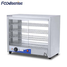 12 Months Warranty Stainless Steel 1KW Four Layer Heated Food Display Warmer Cabinet