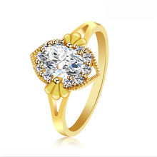 XL1004 xuping fashionable gold engagement ring diamond more colors fashion jewelry
