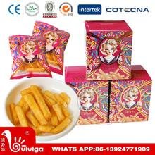 80g box package delicious original tomato flavored potato chips