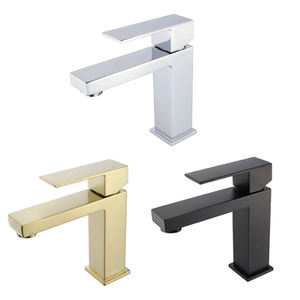 B1 cUPC CE Single Handle Matt Black SUS304 SUS 304 Stainless Steel Cheap Bathroom Basin Sink Tap Faucet For Bathroom