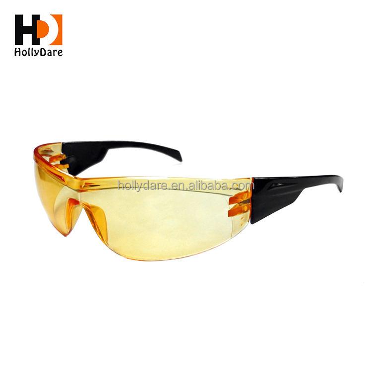 UV 안티-안개 조절 비 슬립 프레임 z87 안전 안경