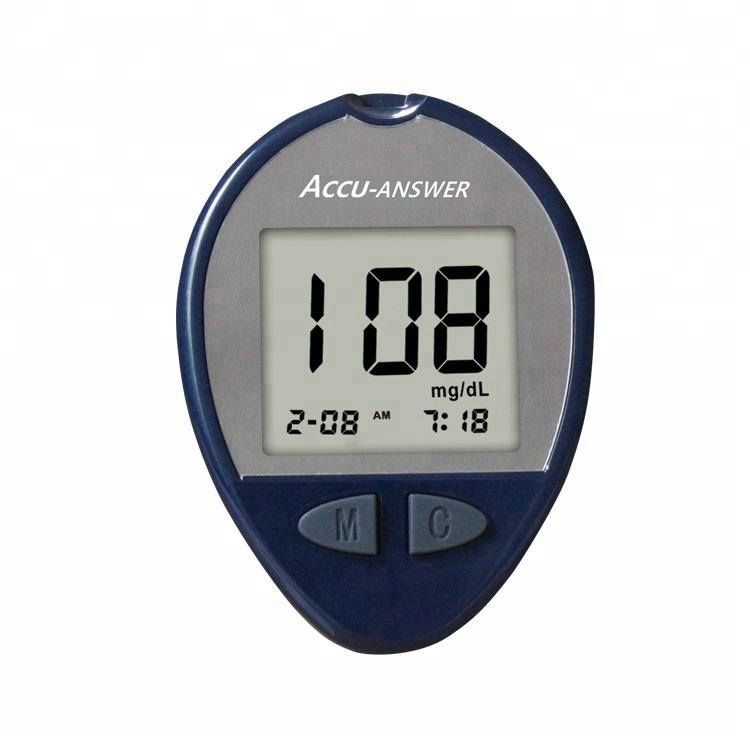 health products automatic rapid test diagnostic blood glucometro testing equipment meter diabetes glucose meter