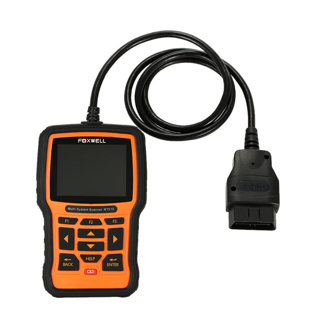 New Arrival FOXWELL NT510 OBD OBDI OBDII Multi-system Scanner Code Reader Scanner