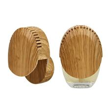 Aroma plug-in diffuser and plug-in fragrance diffuser with wood Grain