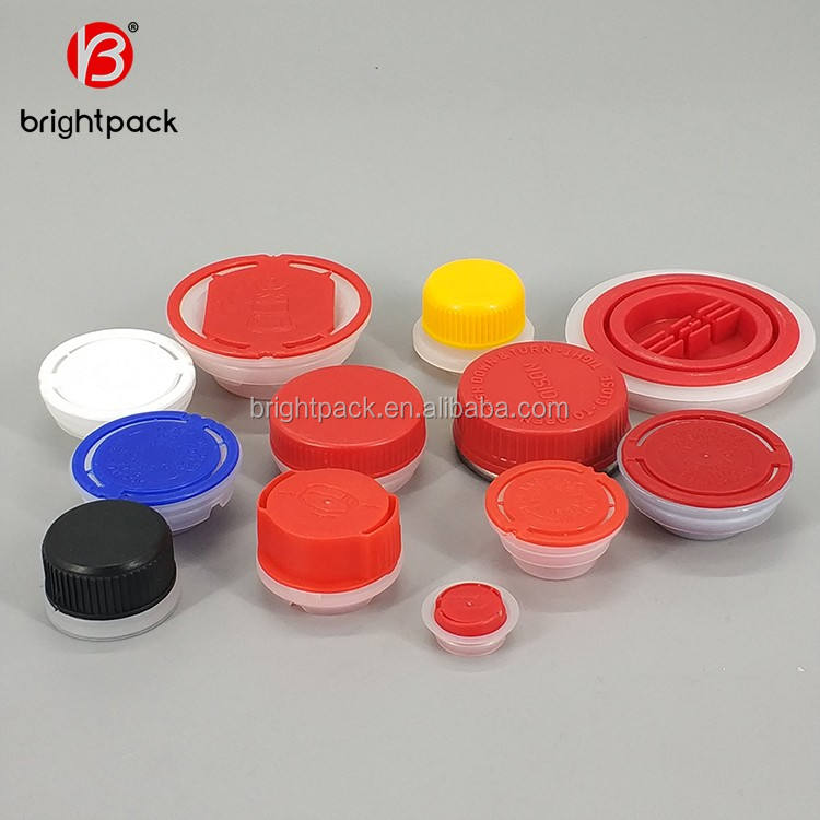 42mm plastic screw cap for tin can,plastic spout lid for square tin can,plastic lid