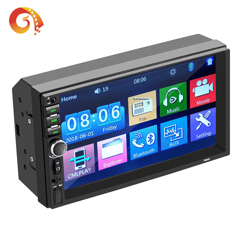 Auto-Player 7880S USB/SD/MP3/MP4/MP5/BT Volle Touch 2 Din Android auto Radio