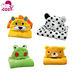 16 styles Animal shape baby hooded bathrobe cute baby bath towel baby bath towel fashion Newborn blankets kids towel with hood