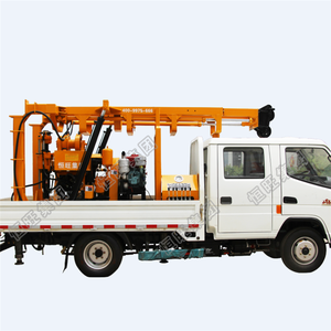 150m 200m 300m Deep Hydraulic Borewell Borehole Rig Bore Water Well Drilling Machine Price
