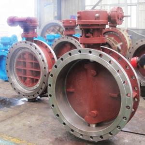 DN800 LC1 material metal laminated butterfly valve