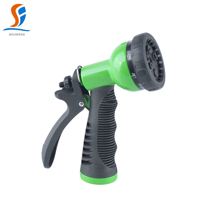 CAR WASH SPRAY NOZZLE  8- PATTERN ADJUSTABLE for Garden Home Usage high preessure