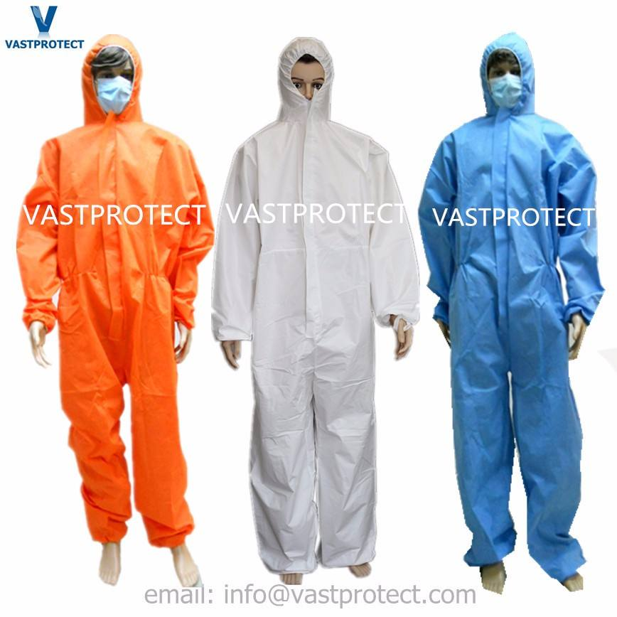 Disposable Overalls Type 5/6 for Asbestos Removal