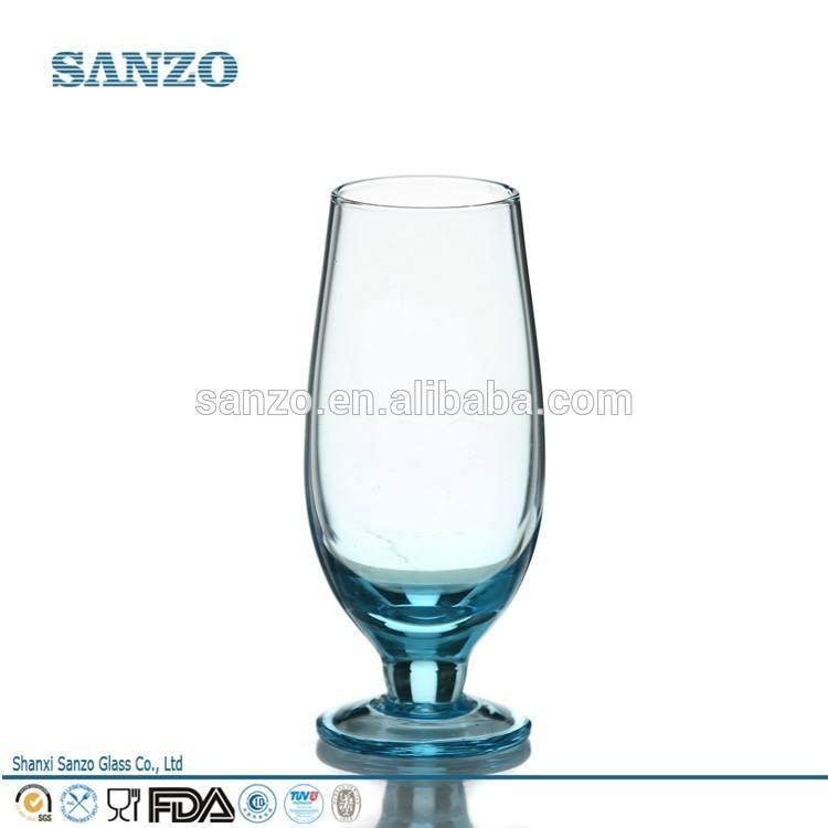 سانزو lq14044 مخصص زجاجيات الصانع مخصصة المسكرات الزجاج بالرصاص الزجاج الأسود