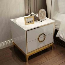 2 drawers mirrored bedroom furniture hot sale luxury  bed side table in stock