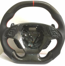 Customized 100% Real Carbon Fiber Steering Wheel For Chevy Camaro Corvette C7