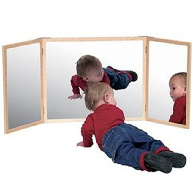 High Quality Preschool Supply Montessori Educational Toddler mirror
