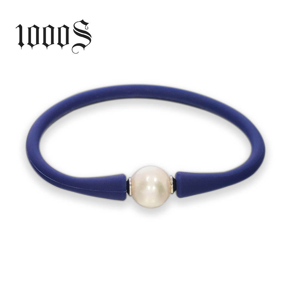 Promotional Gifts Custom Silicon Bracelet With Beads