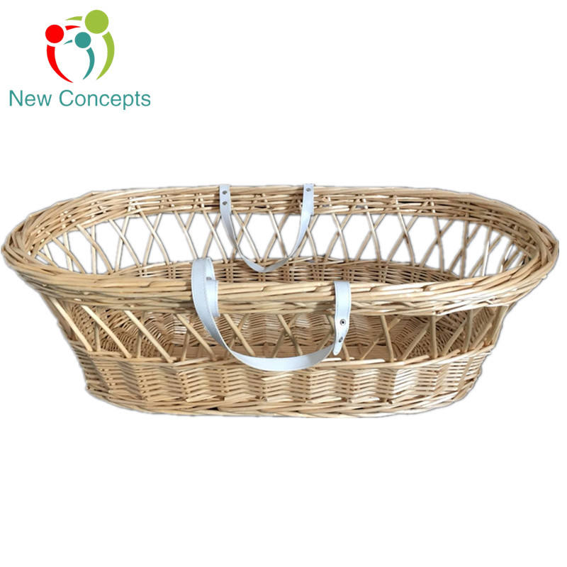100% Handmade Hot seels Baby Wicker Basket/Baby Bassinet/Baby sleeping Pod
