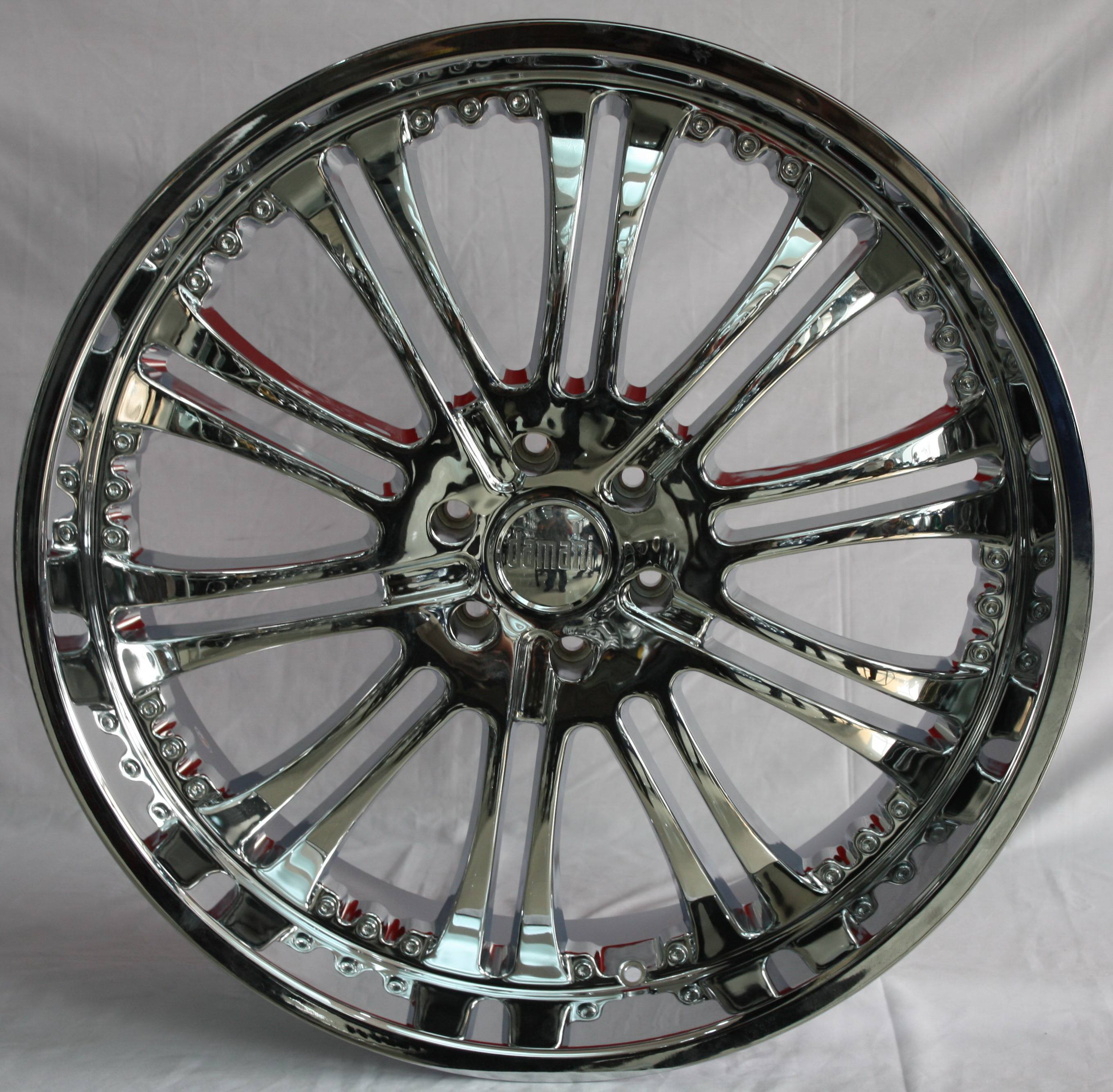 16'' 17'' 18'' 20'' 22'' 24'' 26'' inch chrome car alloy wheels
