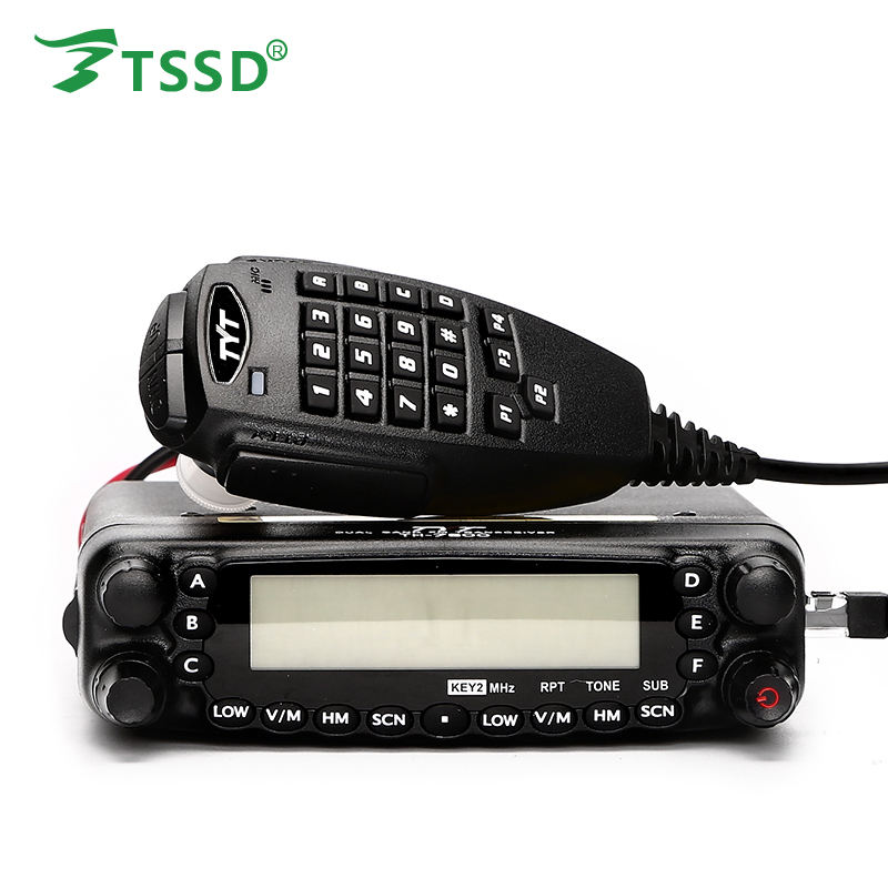 TYT TH-7800 Walkie Talkie 50W Long Range CB Radio Dual Band Transceiver 40/144/430MHz Car Radio for Vehicle Mounted