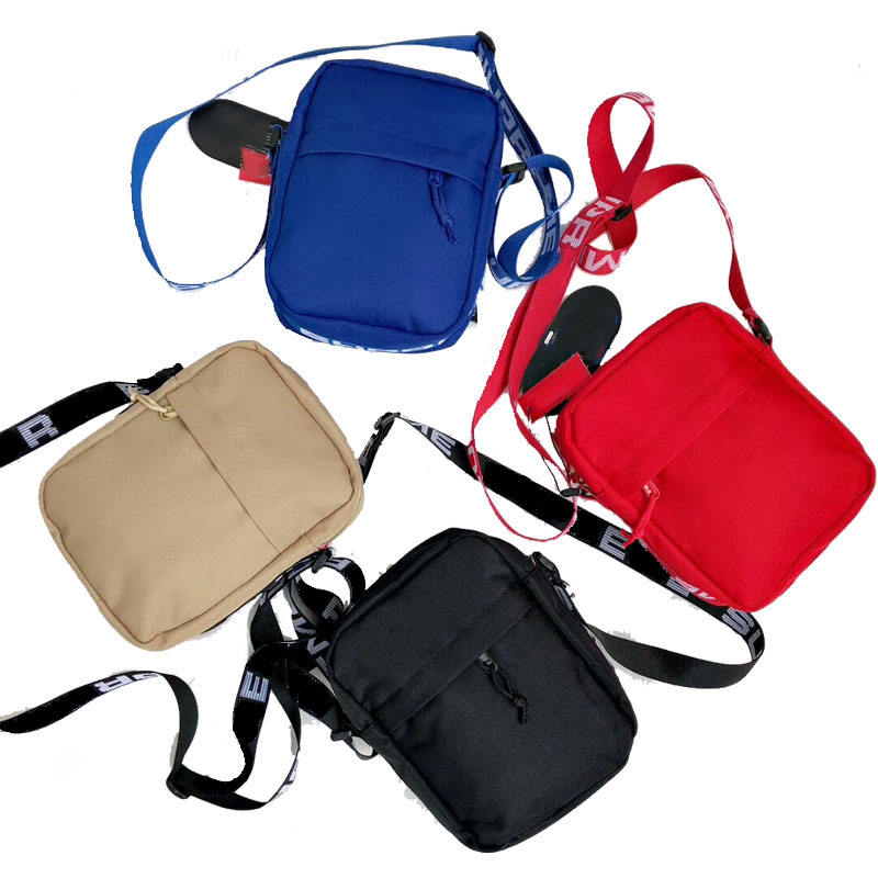 Fashion nylon messenger felt cross sling small custom long strip single professional women mens lady shoulder bag