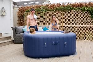 Bestway 54154 Hawaii 6 Person Inflatable Cols Spa Hot Tub