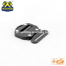 Safety Harness Accessory 45MM Ajustable Belt Buckle With 18KN