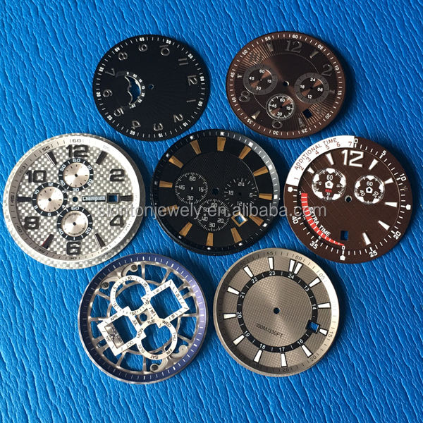 Best quality custom watch dial parts, watch dial making