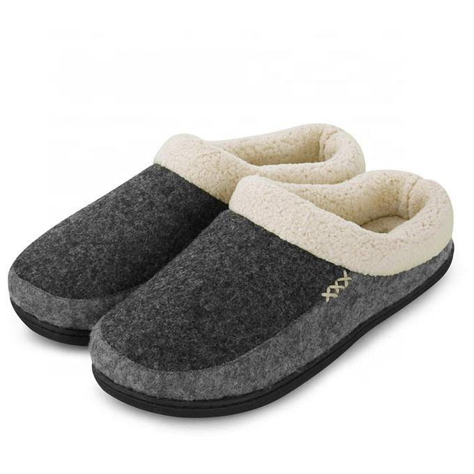 Heren Slippers Amazon Traagschuim Slippers Slip-On Klomp Scuff Huis Schoenen