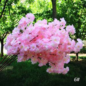 Artificial cherry blossom for cherry blossom tree centerpiece and flowers wedding 8colors