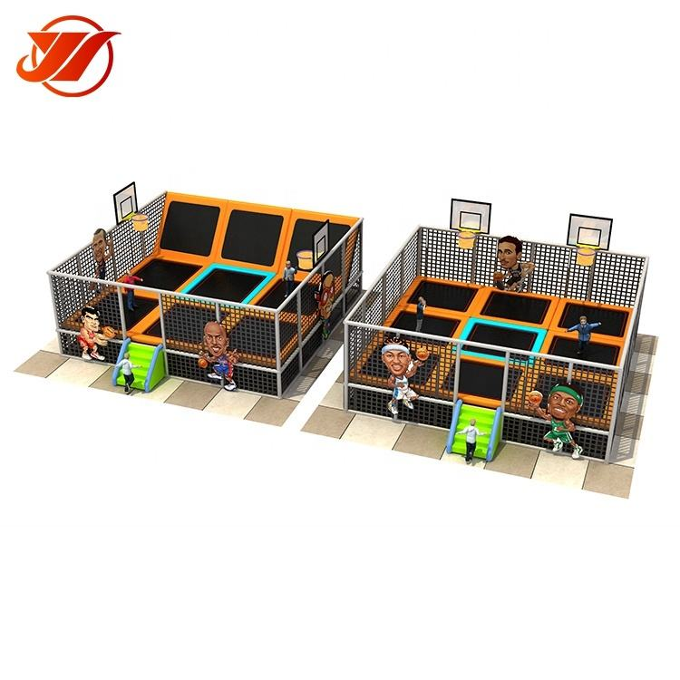 YIWANG Custom size sports entertainment indoor trampoline bed park