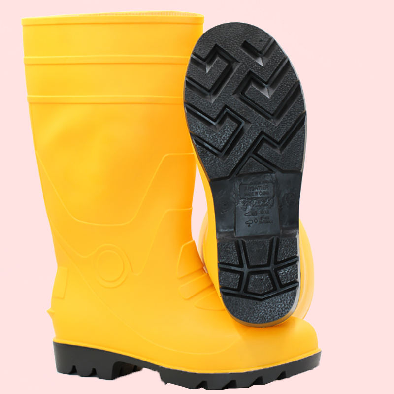 Polyester Lining Foodstuff Chemical filed Agriculture PVC Work Boots
