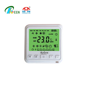 HAVC EC Fan Coil Thermostat Network Control
