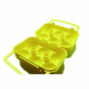 Kitchen Tools Paper Pulp Egg Box Silicone Storage Chicken Egg Box Packaging Nest Carton Plastic Egg Box