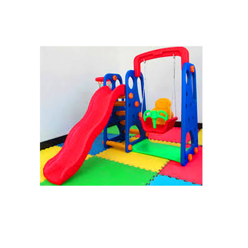 Kindergarten and indoor playground plastic indoor slide for toddlers