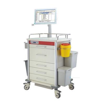 Hospital Cheapest Medical Mobile Workstation Trolley