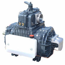 Jurop LC420 Four Vane Rotary Vacuum Pump With Liquid Cooled Housing