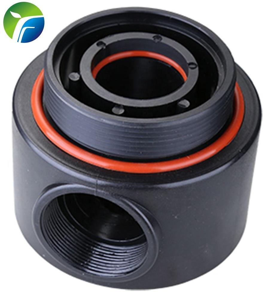 4 inch FRP Tank head with ABS material and black colour for water treatment equipment F8802