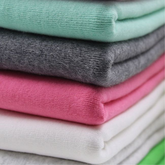 Quick organic cotton jersey fabric