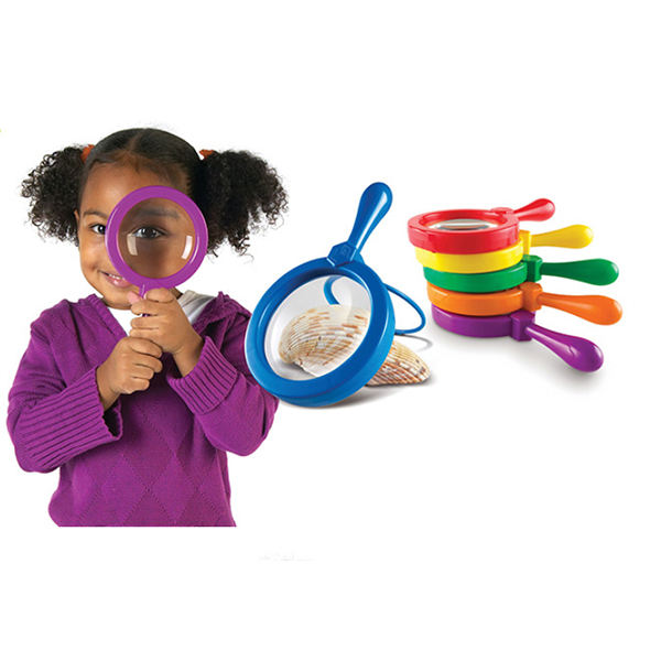 Children Education Toys Decorative Stand Magnifier 3X Magnifying Glass with Bracket for Kids